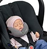 SANDINI SleepFix Baby - Schlafkissen/Nackenkissen mit Stützfunktion - Kindersitz-Zubehör für Auto/Fahrrad/Reise - Kopfstütze/Sitzverkleinerung/Verhindert das Abkippen des Kopfes im Schlaf