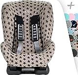 JANABEBE Schutzhülle Universal für Auto-Kindersitz Gruppe 1, 2 und 3 (DARK SKY)
