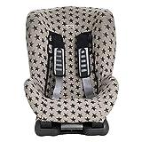 JANABEBE Bezug Universal für Auto-Kindersitz Gr 1 2 3 (DARK SKY)